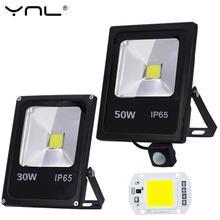 Détecteur de mouvement Led projecteur 50W 30W 10W 220V réflecteur projecteur lampe foco Led extérieur IP65 étanche Spot lumière éclairage