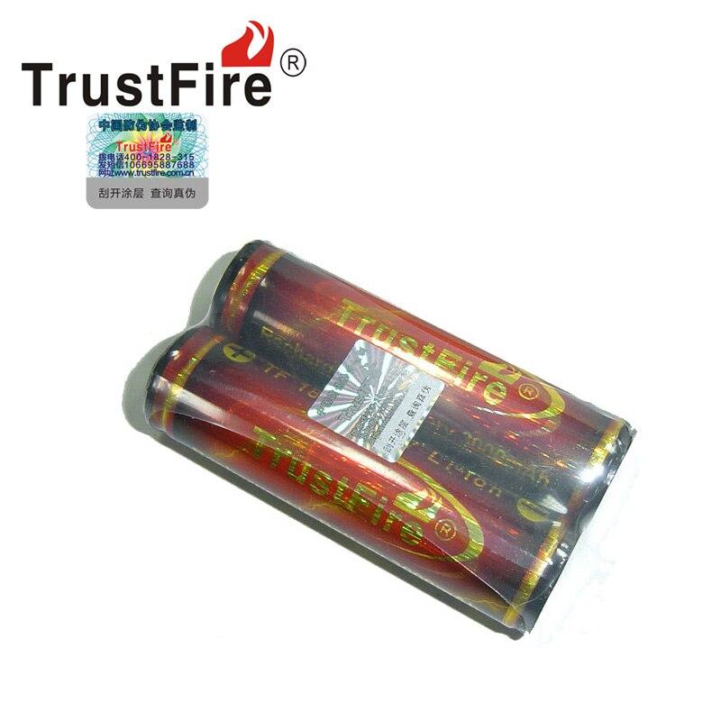 Alta calidad TrustFire PCB protegido 18650 3,7 V 3000mAh batería recargable 2 unids/set diseño ambiental batería de litio