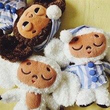Mignon singe en peluche cheburashka poupée douce russie Anime jouet bébé enfants sommeil apaiser poupée