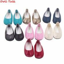 Tanie buty dla amerykańska lalka moda dziewczyna 18 Cal akcesoria dla lalek buty Fit BJD rosyjski ręcznie robione lalki dla dzieci najlepszy prezent