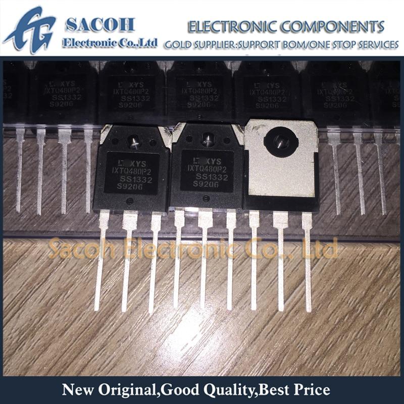 Frete Grátis 10 Pcs IXTQ480P2 IXTQ480 IXTQ470P IXTQ470 TO-3P 52A 500 V Potência MOSFET transistor