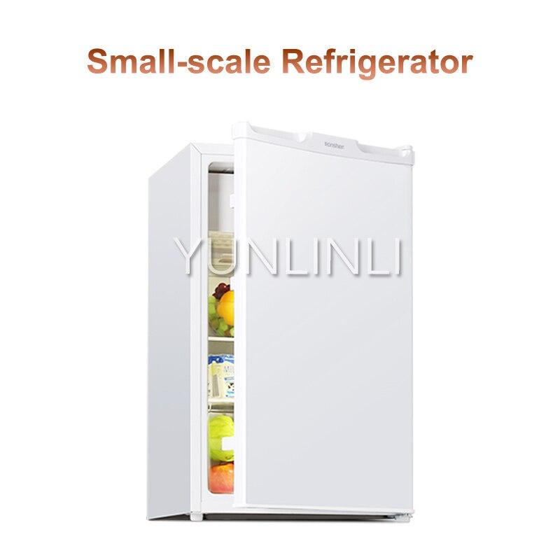 Refrigerador vertical de porta única 101 com grande capacidade e economia de energia para casa