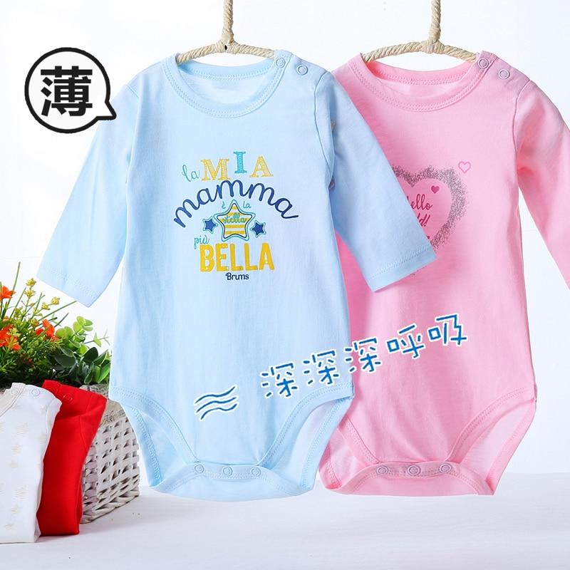 Roupas de bebê bodysuit mangas compridas 100% algodão crianças roupas do bebê menino meninas macacão crianças macacão terno do corpo pijamas