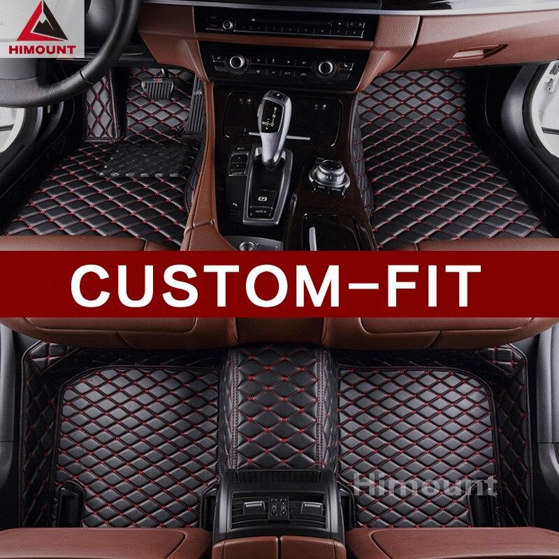 Alfombrilla de suelo de coche personalizada para Mitsubishi ASX RVR Outlander 3 2 1 deporte Pajero todo el tiempo alfombras duraderas de alta calidad alfombras de