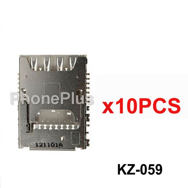 10/20/50/100 Uds para Samsung Galaxy J100 J1 J100H J100F J5 J500 J500F J7 J700 J700F memoria soporte para tarjeta SIM conector hembra