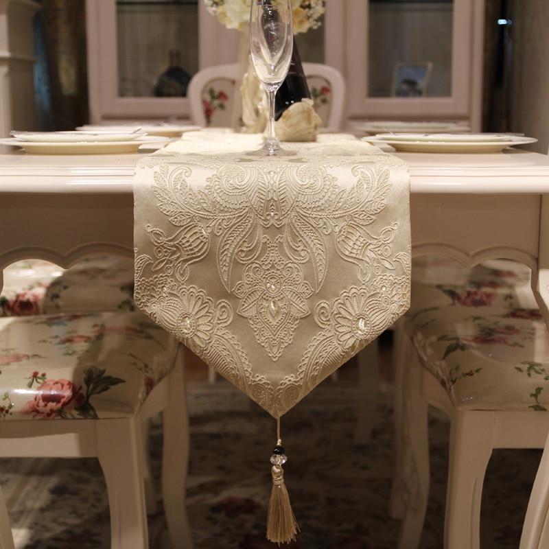 HELLOYOUNG الأوروبي الجدول العلم الراقي طاولة القهوة لغرفة المعيشة عداء مفرش طاولة القماش الديكور الموضة