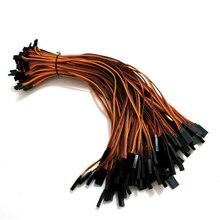 300mm 30 cm 22AWG 10 pcs/lot câble de fil dextension de servos RC pour câbles de prise mâle et femelle Futaba JR câblage livraison gratuite