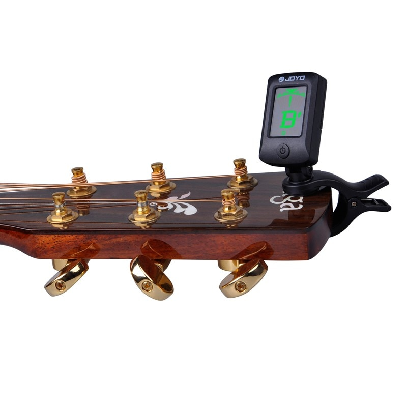 100 pcs JOYO JT-06 Tuner for Guitar, ukulele, Violin, Bass and Chromatic Mini Digital LCD MusicInstrument Free Shipping enlarge