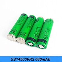 1-10 PCS/Lot 100% Original authentique AA taille 3.6V 14500 US14500VR2 680mAh lampe de poche batterie haute capacité AA 680mAh Turmera jy7