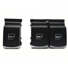 Direct sale! chrome mirror switch Window Switch for VW passat B6 Eos Golf 5 6 GTI mk5 mk6 5K3959857 & 5ND959855
