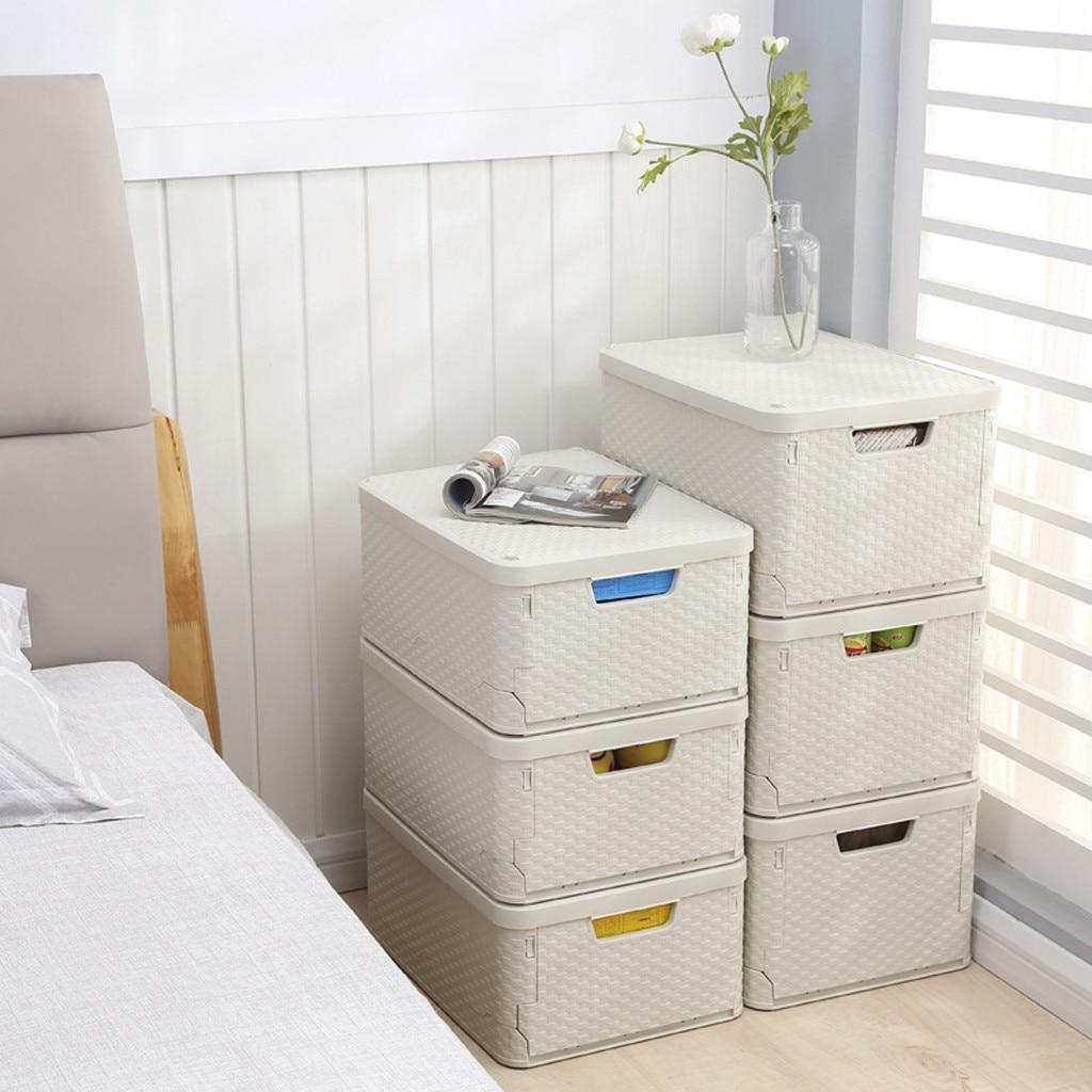 Decoracion Hogar 2019 Auto Falten Lagerung Box Falten Bin Für Haushalt Kleidung Lagerung Box Schublade Organizer Cajonera 40