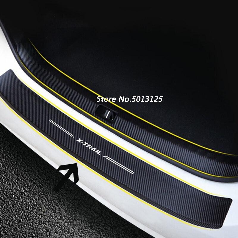 السيارة الخارجية الخارجية ريارداردز المصد الخلفي بدواسة المصد لنيسان X-Trail X Trail T32 2014-2018 2019 2020 2021