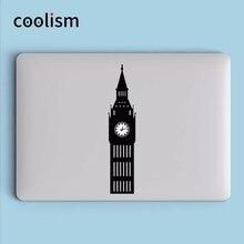 Londen Big Ben Vinyl Laptop Sticker voor Apple MacBook 13 Pro Air Decal Retina 11 12 15 inch Mac Mi Oppervlak Boek Art Skin Sticker