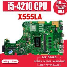 X555LA Motherboard I5-4210U 4GB RAM RAm For ASUS W519L F555L K555L X555LD laptop Motherboard X555LA Mainboard X555LA Motherboard