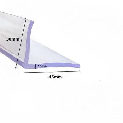 Резиновая уплотнительная лента L 30x45x2,5 мм для автомобильного шкафа, стеклянная металлическая деревянная панель, прозрачная защитная крышка