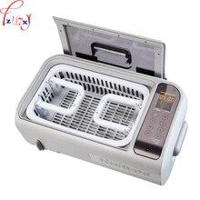 Machine de nettoyage ultrasonique de bureau de ménage 6L bijou machine de nettoyage ultrasonique de fausses dents 220 V 300 W