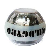 Jiroskop Güç Topu Işık Bilek Topu Kas Eğitimi Basıncı Gyro Kol Egzersiz Güçlendirici LED Hız metre tezgah