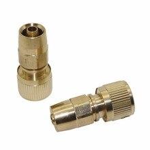 Raccords de tuyau télescopiques en cuivre   Connecteur de tuyau de 3/8 po, raccords de tuyau télescopique pistolet à eau de lavage, connecteur rapide homestarter lavage de voiture, outils propres
