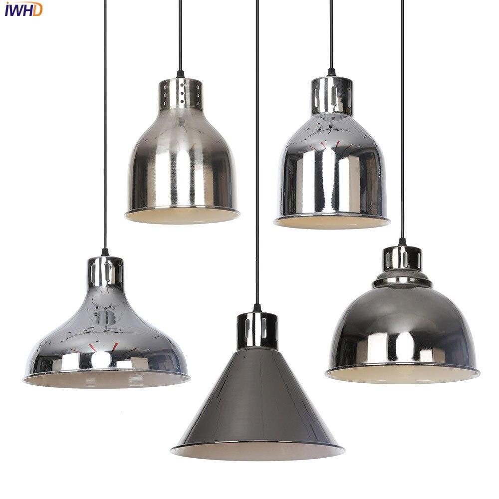 مصباح معلق LED من الحديد على الطراز الاسكندنافي ، مصباح معلق عتيق قابل للتعديل ، ديكور غرفة المعيشة ، Lampara Colgante