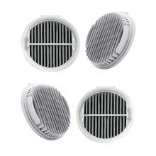 Filtre Hepa 4 pièces pour Xiaomi Roidmi sans fil F8 aspirateur à main intelligent remplacement efficace filtres Hepa pièces Xcqlx01R