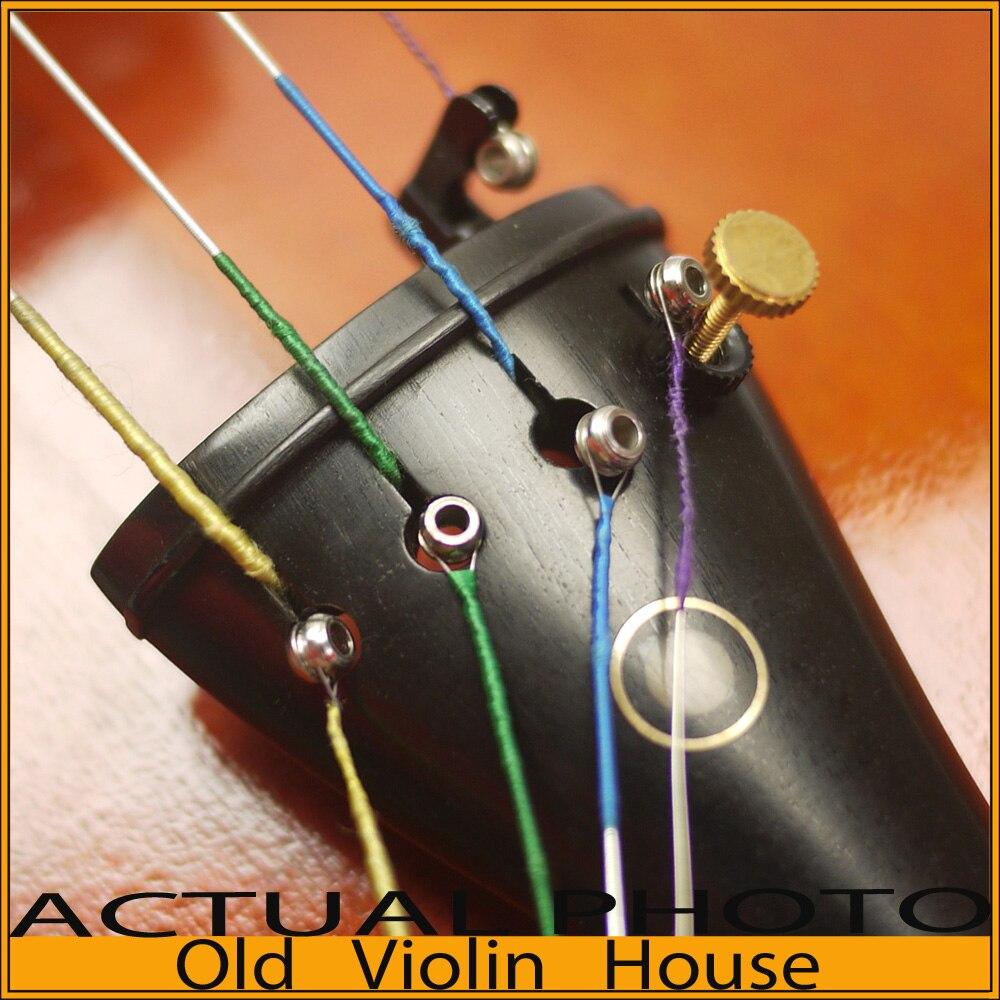 Cordas de violino opera chromesteel 4/4, calibre médio, conjunto completo (g, d, a, e), extremidade da bola, venda quente