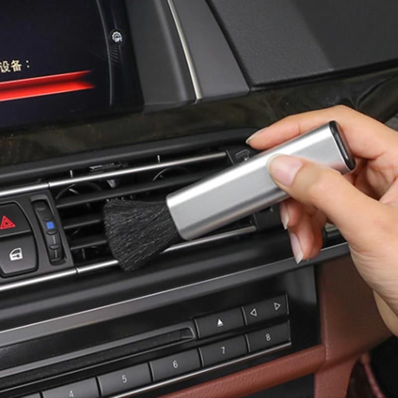 Para Audi A3 8P 8V 8L A4 B6 B8 B7 B5 B9 A5 A6 C5 C6 C7 4F A7 A8 A1 A2 Q3 Q5 Q7 TT 80 90 100 200 R8 S línea coche logotipo cepillo de limpieza