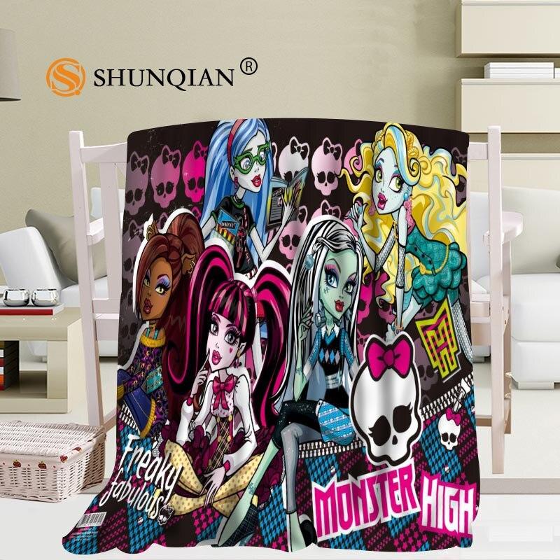 Manta personalizada de monstruo Manta Falafel sofá/cama/avión ropa de cama a cuadros de viaje Set 56x80 pulgadas 50x60 pulgadas 40x50 pulgadas