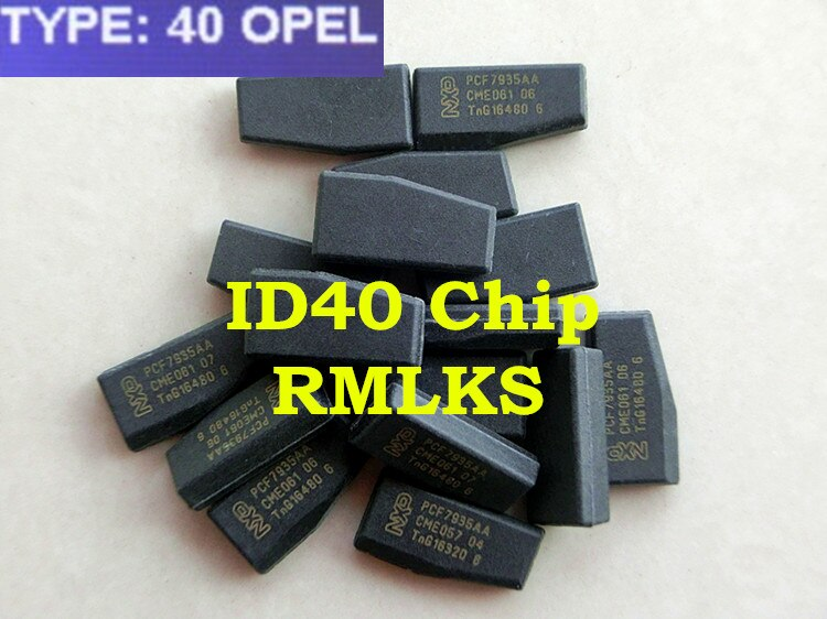 Puce RMLKS ID40 adaptée à la puce transpondeur Opel ID40