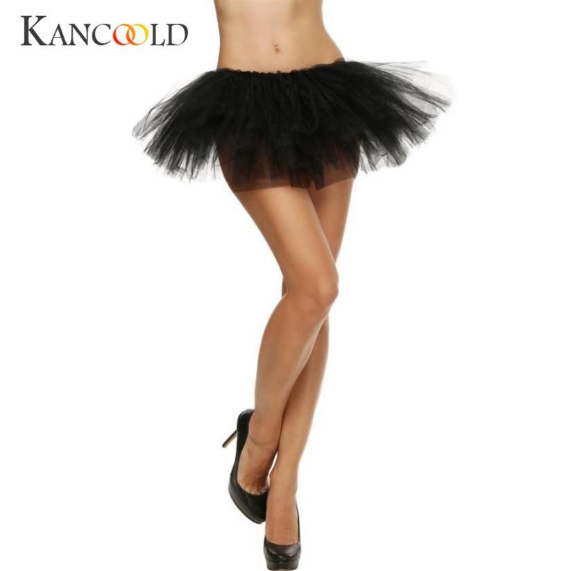 Falda Sexy para mujer, bonita, elástica, tul, tutú corto para adultos, 5 capas, Mar 14