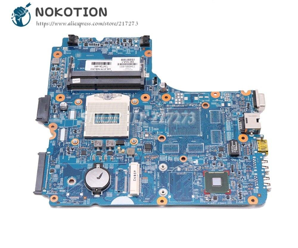 NOKOTION para HP Probook 450 G1 placa base de computadora portátil HM87 48.4YW05! 011 734085-601, 734085-001 Tablero Principal