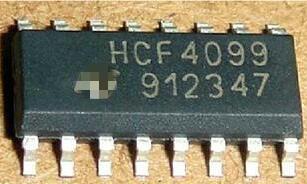 موصل بديل جديد 100% أصلي HCF4099 HCF4099BM1, CD4099 CD4099BM 8-BIT قابل للعنونة SOP-16 IC x20 قطعة شحن مجاني