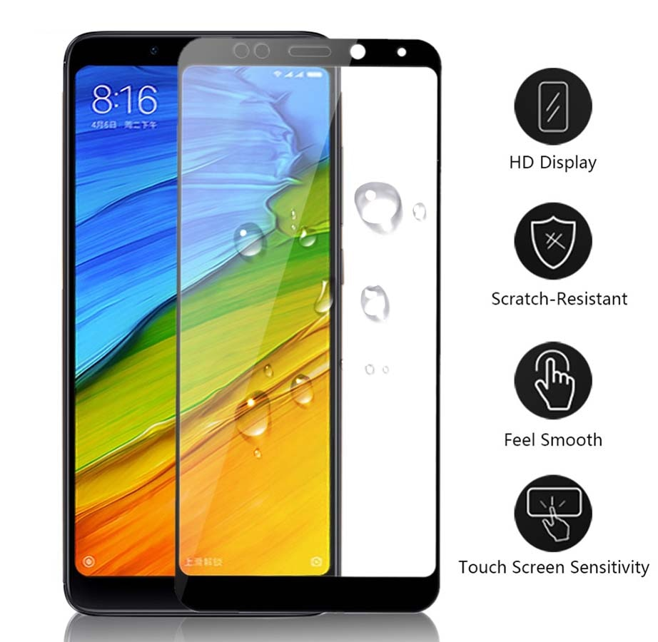 Cristal Protector para Xiaomi Redmi Note 5 A 6 Pro Plus 5a A5 Prime, cristal templado, Protector de pantalla para Ksiomi Xaomi Xiomi Red