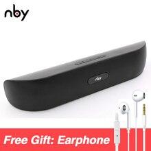 Nby 008 haut-parleur Bluetooth Portable Radio FM 10w haut-parleur Hi-Fi sans fil haut-parleurs stéréo 3D ordinateur basse Boombox tws AUX TF