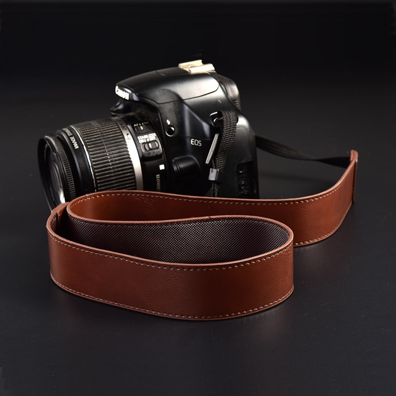Correa de cuero para cámara Sony Alpha a7 III a77 s a6500...