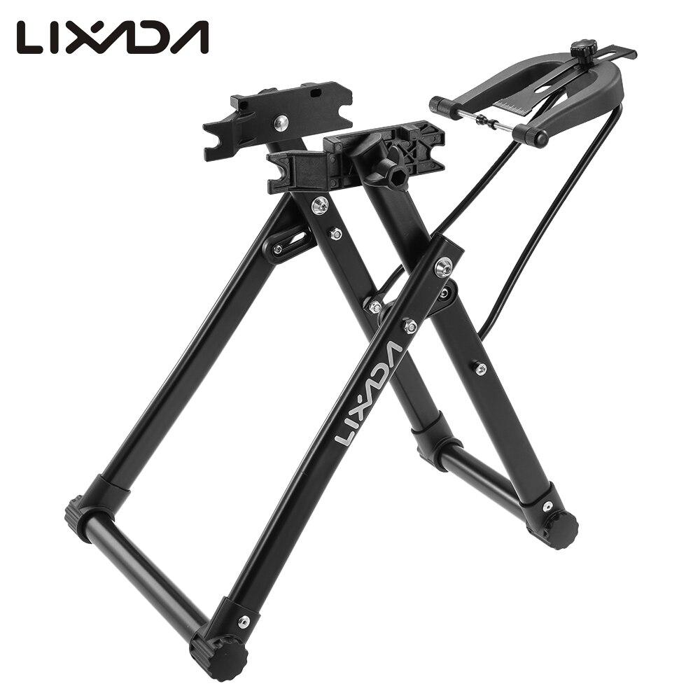 Lixada, soporte mecánico de bicicleta para el hogar, soporte de bicicleta para mantenimiento de ruedas, soporte de bicicleta para el hogar, herramienta de reparación