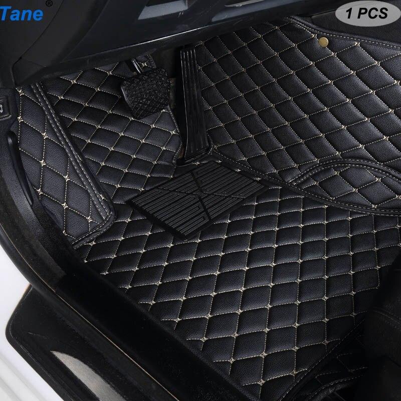 Tane tapetes do assoalho carro de couro para jaguar xf 2018 ~ 2019 xj F-PACE 2018 F-TYPE 2013 accessories 2019 xk acessórios tapetes tapete