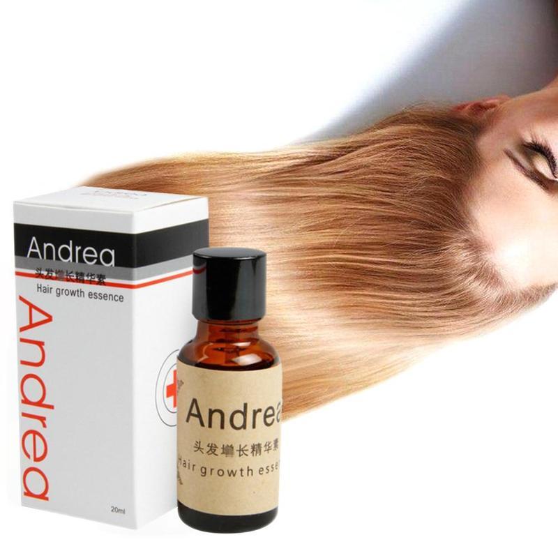 10pcs Andrea Hair Growth Serum Oil Herbal Keratin Fast Hair Growth Alopecia Loss Liquid Ginger Sunburst Yuda Pilatory Oil