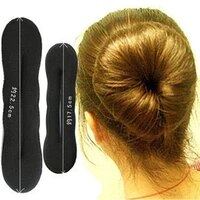 by dhl or ems 200sets free shiping 2pc french styling magic hair foam sponge curler maker former twist tool 10001147