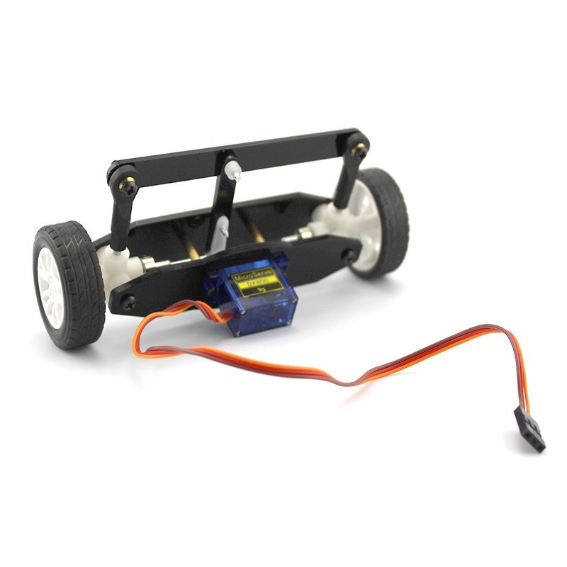 Se ha convertido en el eje delantero ZX2 modelo del sistema de dirección (timón) material del modelo del coche a mano el conjunto de dirección del volante delantero