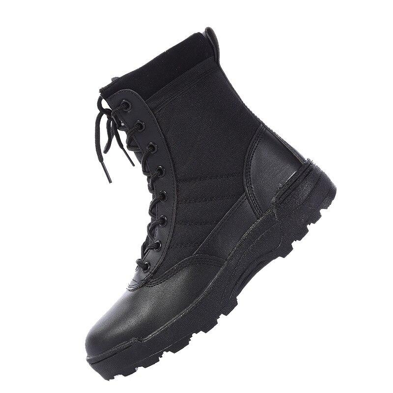 2021 nouveau bottes en cuir militaire américain pour hommes Combat Bot infanterie bottes tactiques Askeri Bot armée Bots armée chaussures Erkek Ayakkabi