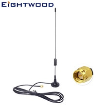 Eightwood 865~965MHz Z-Wave Smart Home Magnetic Base SMA Antenna Aerial for sigfox Homematic CCU1 CCU2 CCU3 Fibaro Home Center