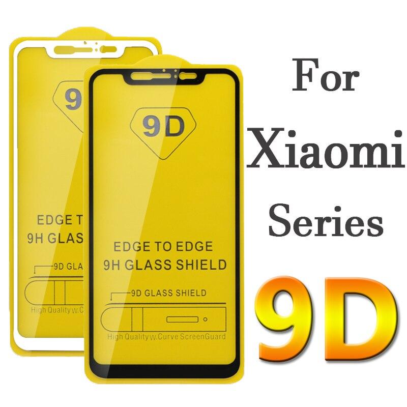9D для xiaomi mi 8 lite закаленное стекло ksiomi pocophone F1 8se световая защитная пленка xiaomei F 1 защитная пленка xiomi 1F glas