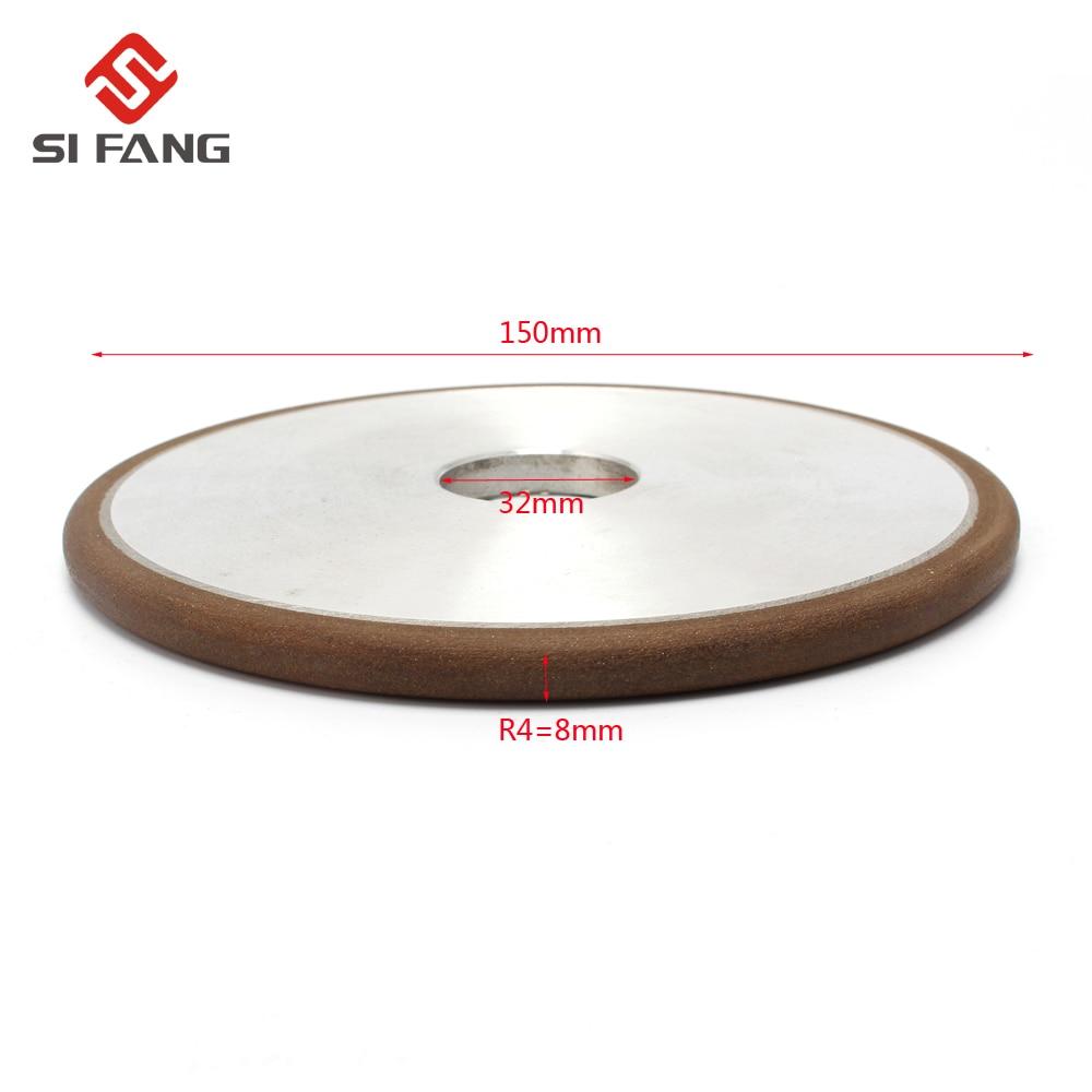 150mm Diamond Grinding Wheel Grinding Disc Saw Blade PH 150 Grain Mill Sharpening Grinding Wheel Rotary Abrasive Tools R4