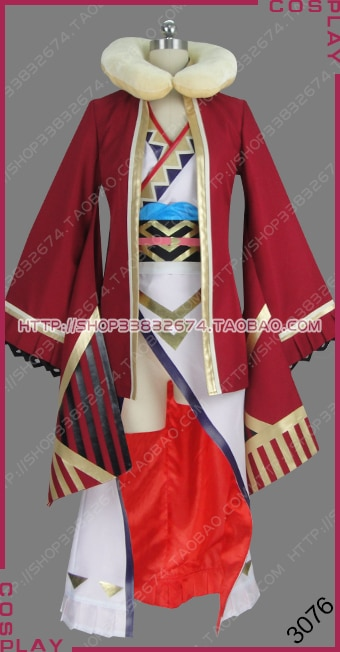 Fire Emblem Heroes Camilla Holiday Traveler Ver. Outfit Dress Cosplay Costume S002
