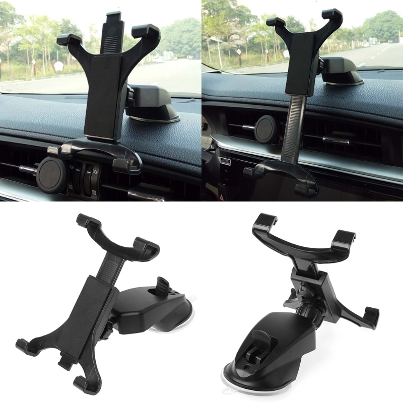 360 Car Dashboard Mount Holder Stand For 7-11inch Tab Tablet PC enlarge