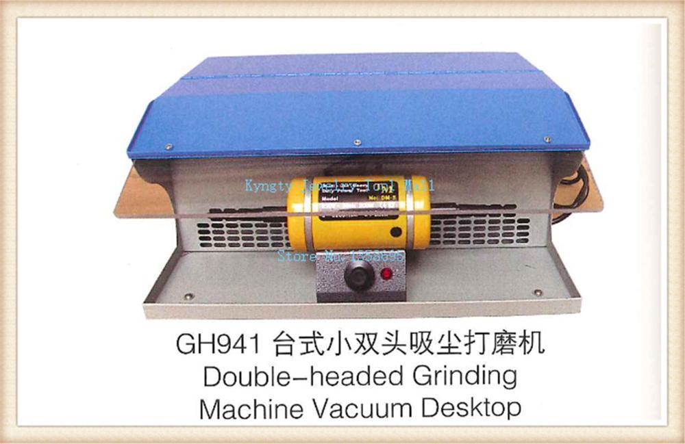 Motor de cepillo con bancos colectores de polvo, tornos, pulidora, Motor de pulido de joyas de 220V