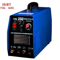 new igbt dc inverter tig mma 250a welding machine free shipping