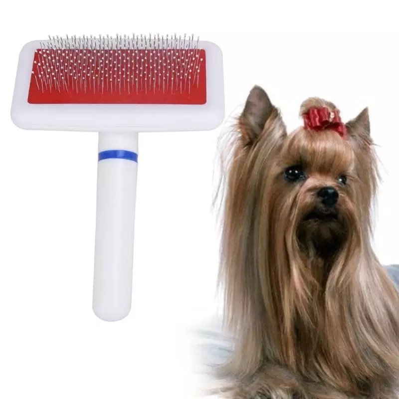 SUPREPET 1 Psc Pet Hair Trimmer Comb Cat Grooming Supply Brush Slicker Tool Long Hair Pet White Brush