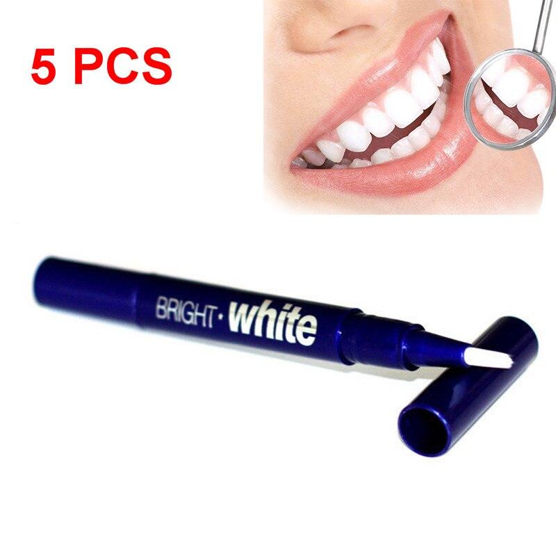 5/2/1 Uds., cuidado Dental portátil, blanqueamiento de dientes blanco brillante, eliminación de manchas amarillas, pluma blanqueadora de Gel de 2,5 ml, herramienta de blanqueamiento TSLM2
