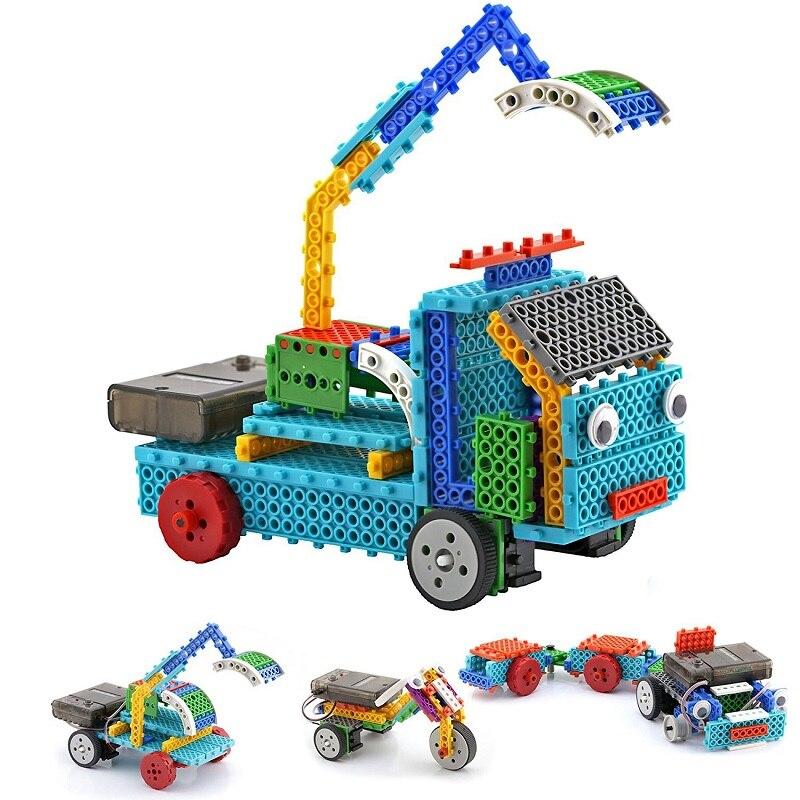 128PCS Creator Serie RC Robot Building Block STEM Educational Toy Construction Remote Control Robot